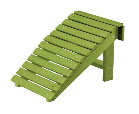 Lime Green Sidra Outdoor Folding Footstool