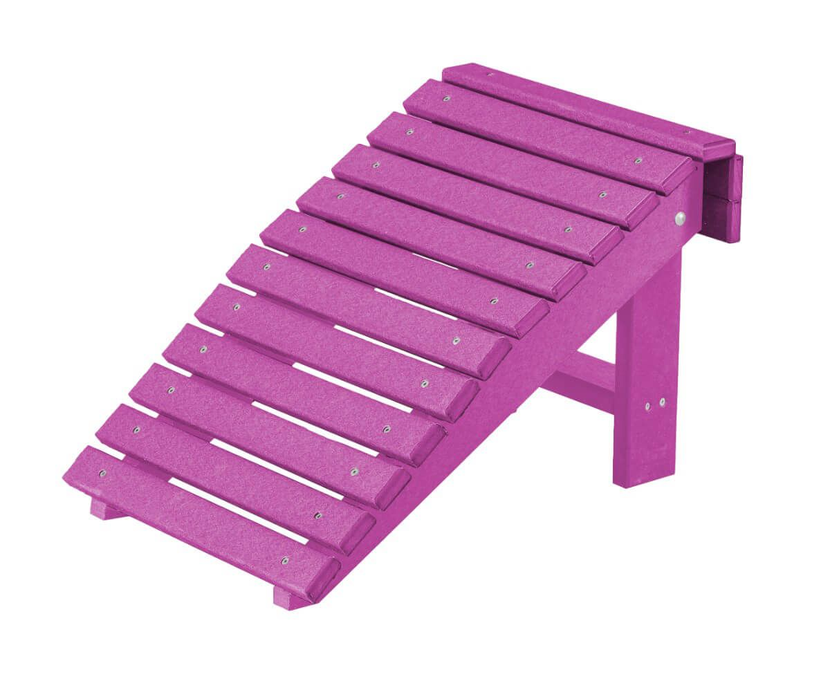 Purple Sidra Outdoor Folding Footstool
