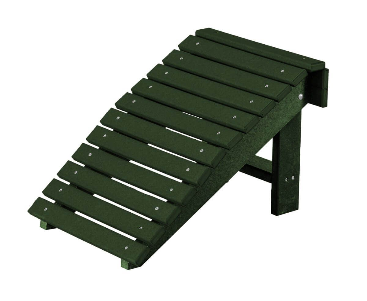 Turf Green Sidra Outdoor Folding Footstool