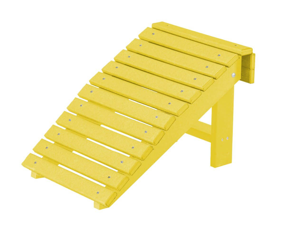 Lemon Yellow Sidra Outdoor Folding Footstool