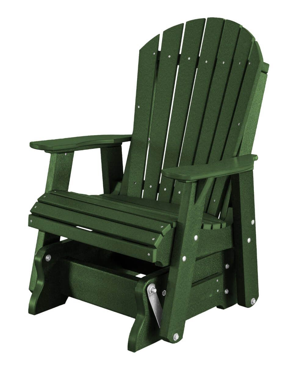 Turf Green Sidra Outdoor Glider Chair