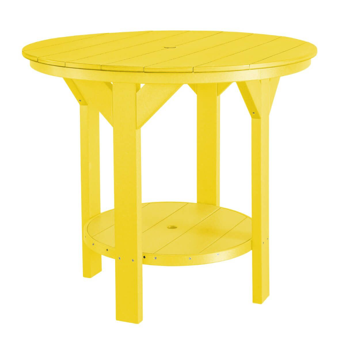 Lemon Yellow Sidra Outdoor Pub Table