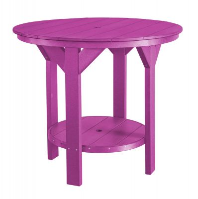Purple Sidra Outdoor Pub Table