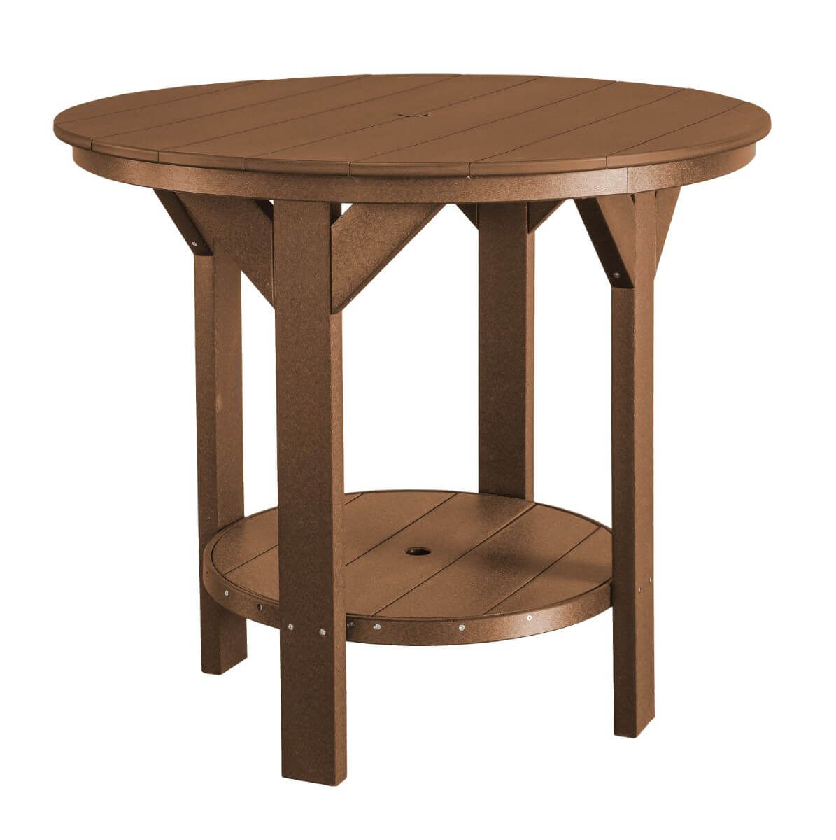 Tudor Brown Sidra Outdoor Pub Table