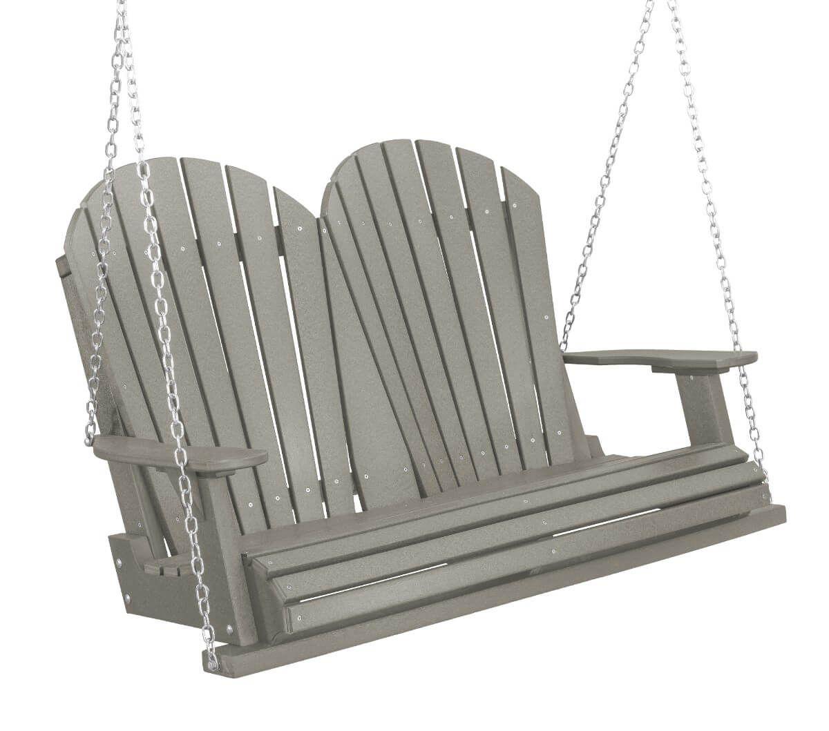 Light Gray Sidra Outdoor Porch Swing
