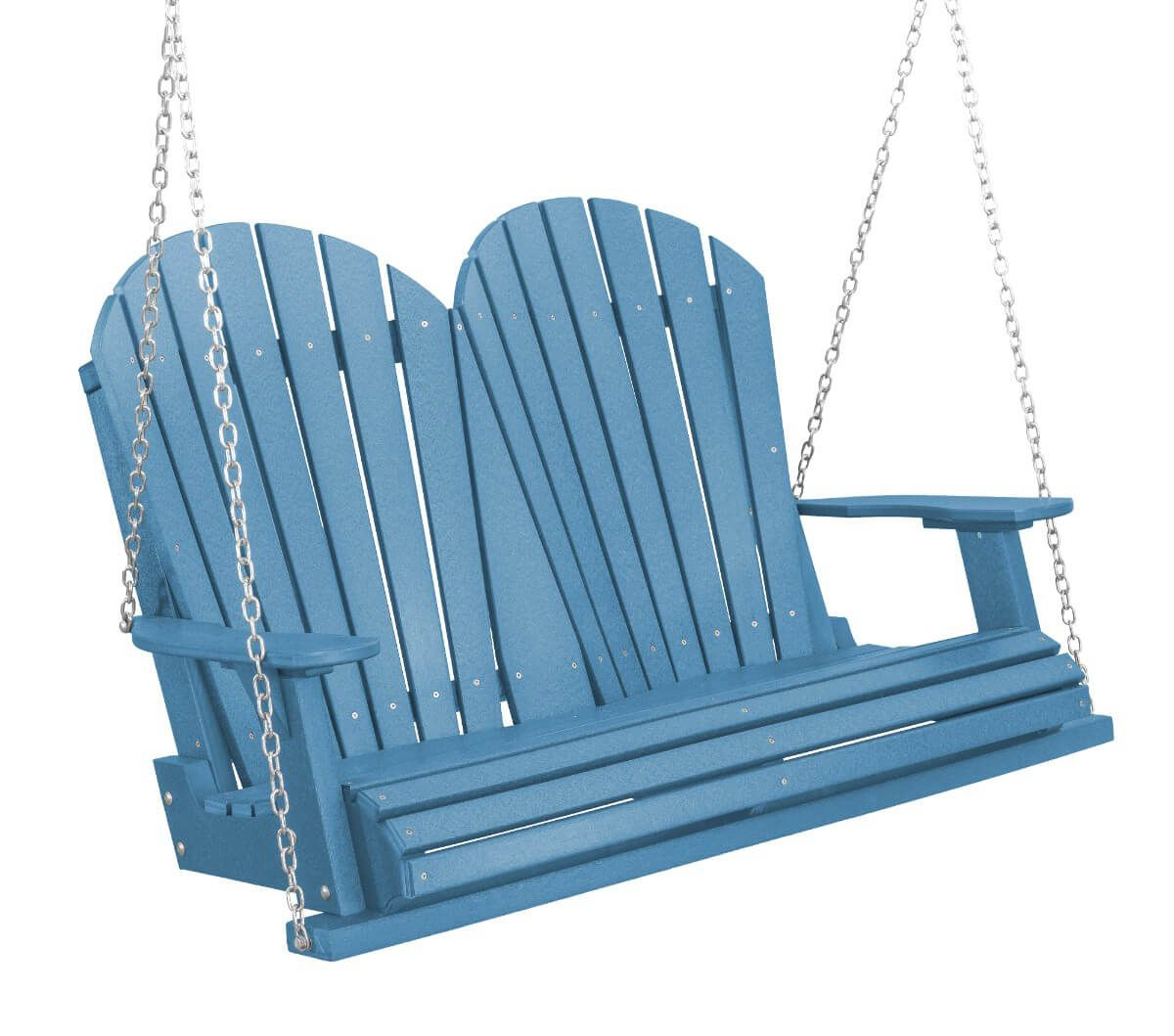 Powder Blue Sidra Outdoor Porch Swing