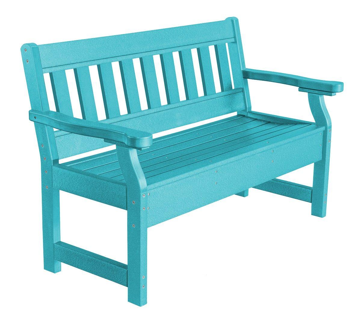 Aruba Blue Aden Garden Bench