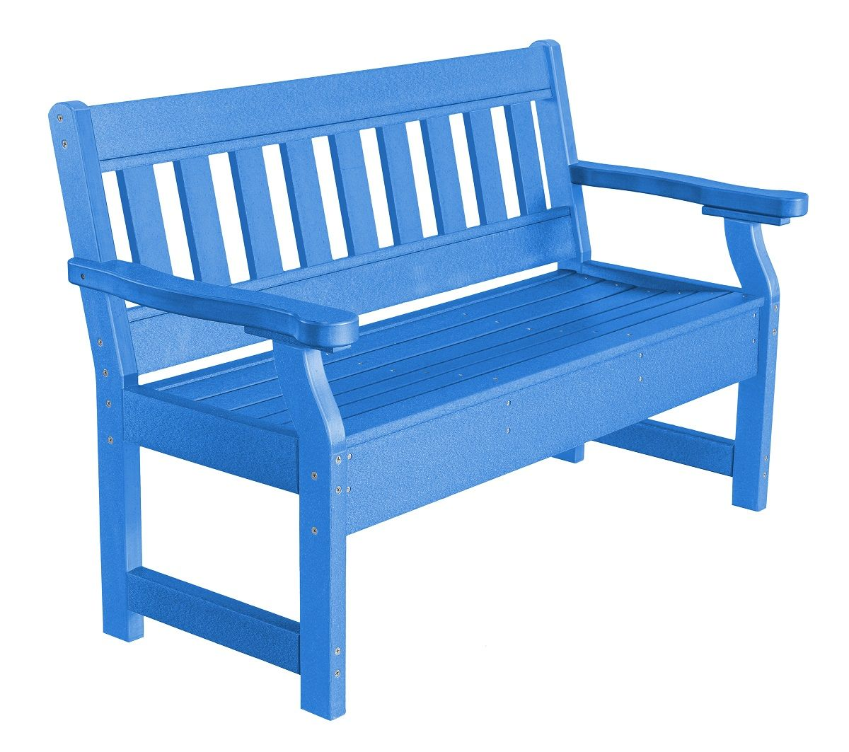 Blue Aden Garden Bench