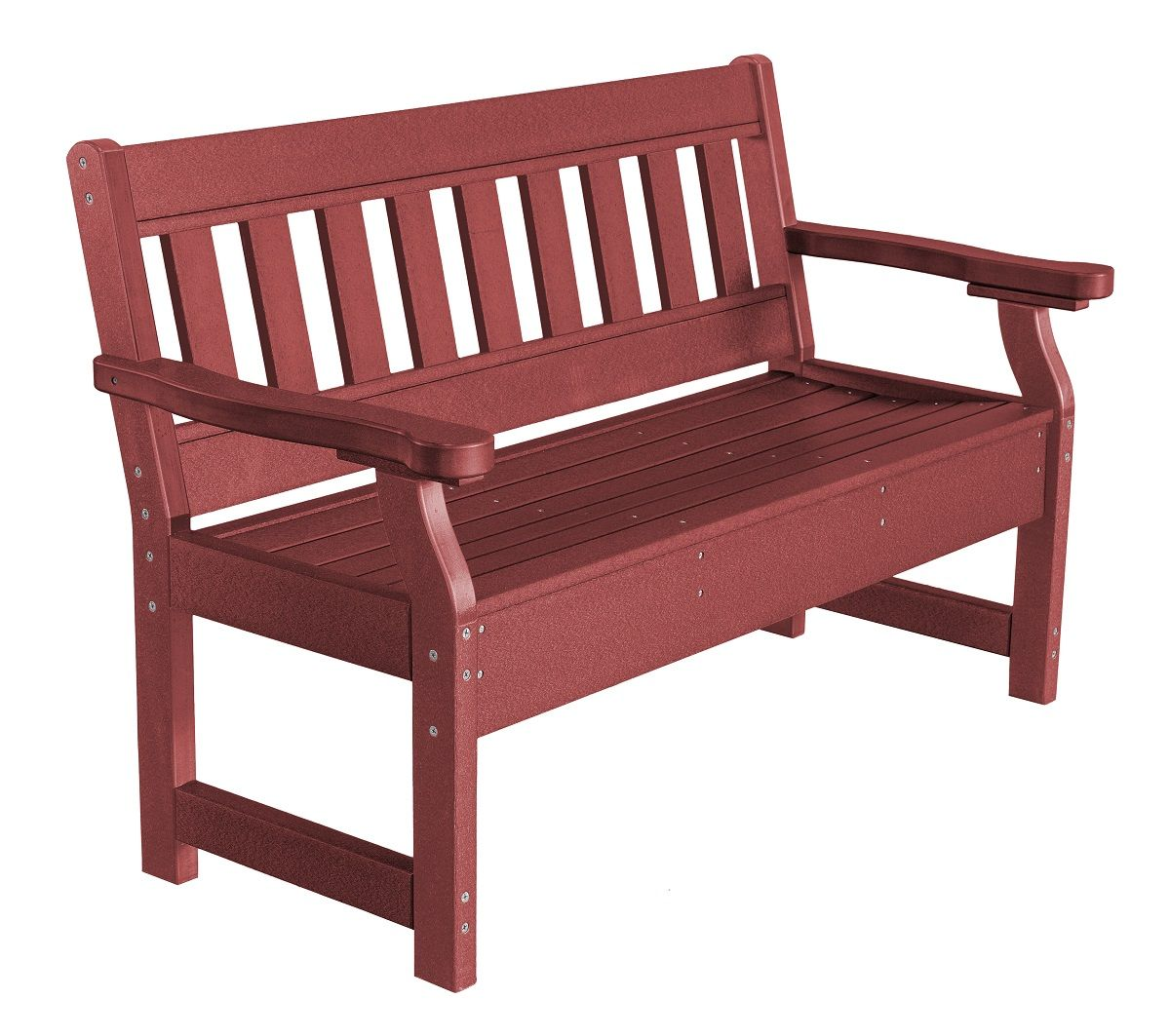 Cherry Wood Aden Garden Bench