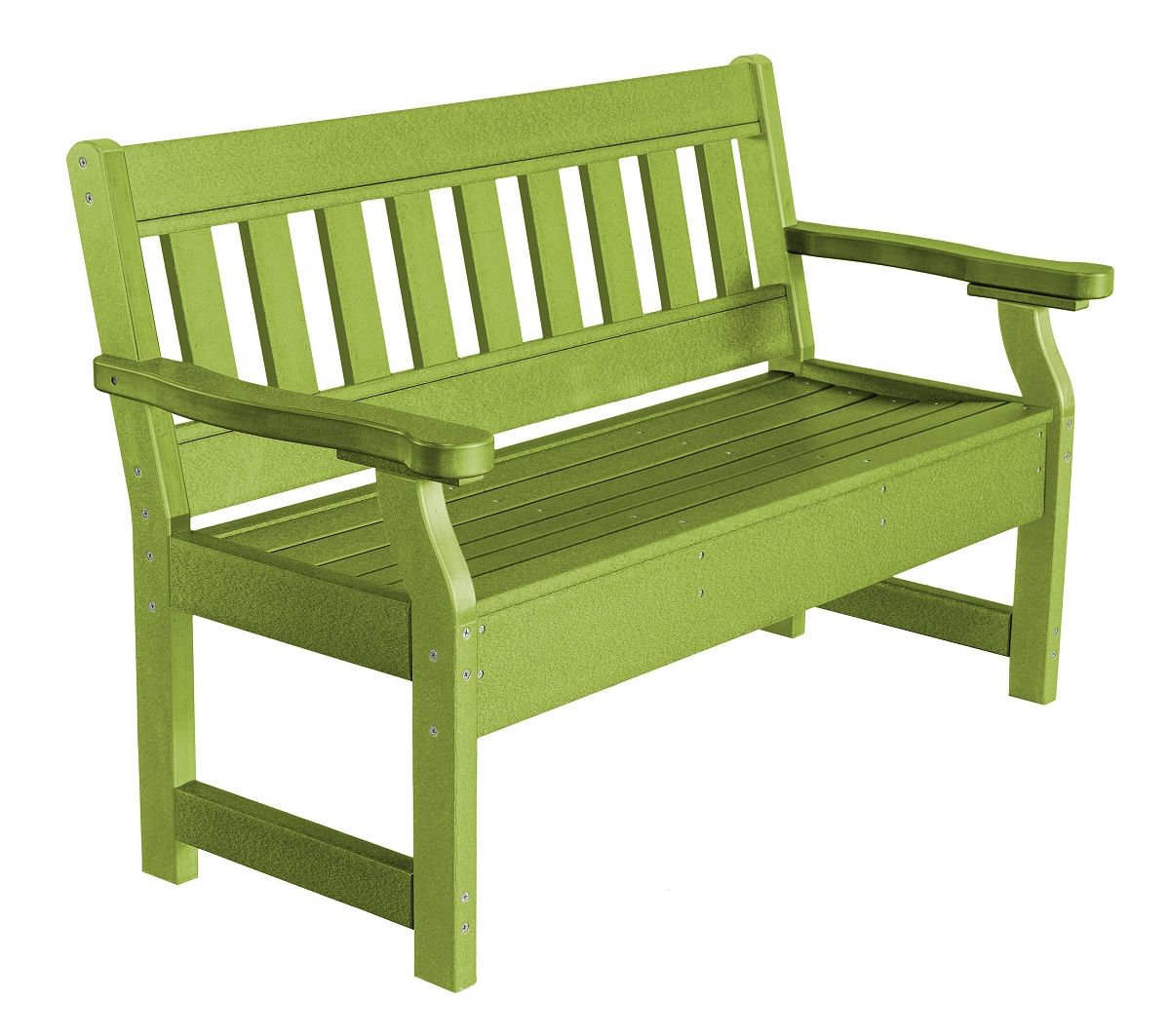 Lime Green Aden Garden Bench