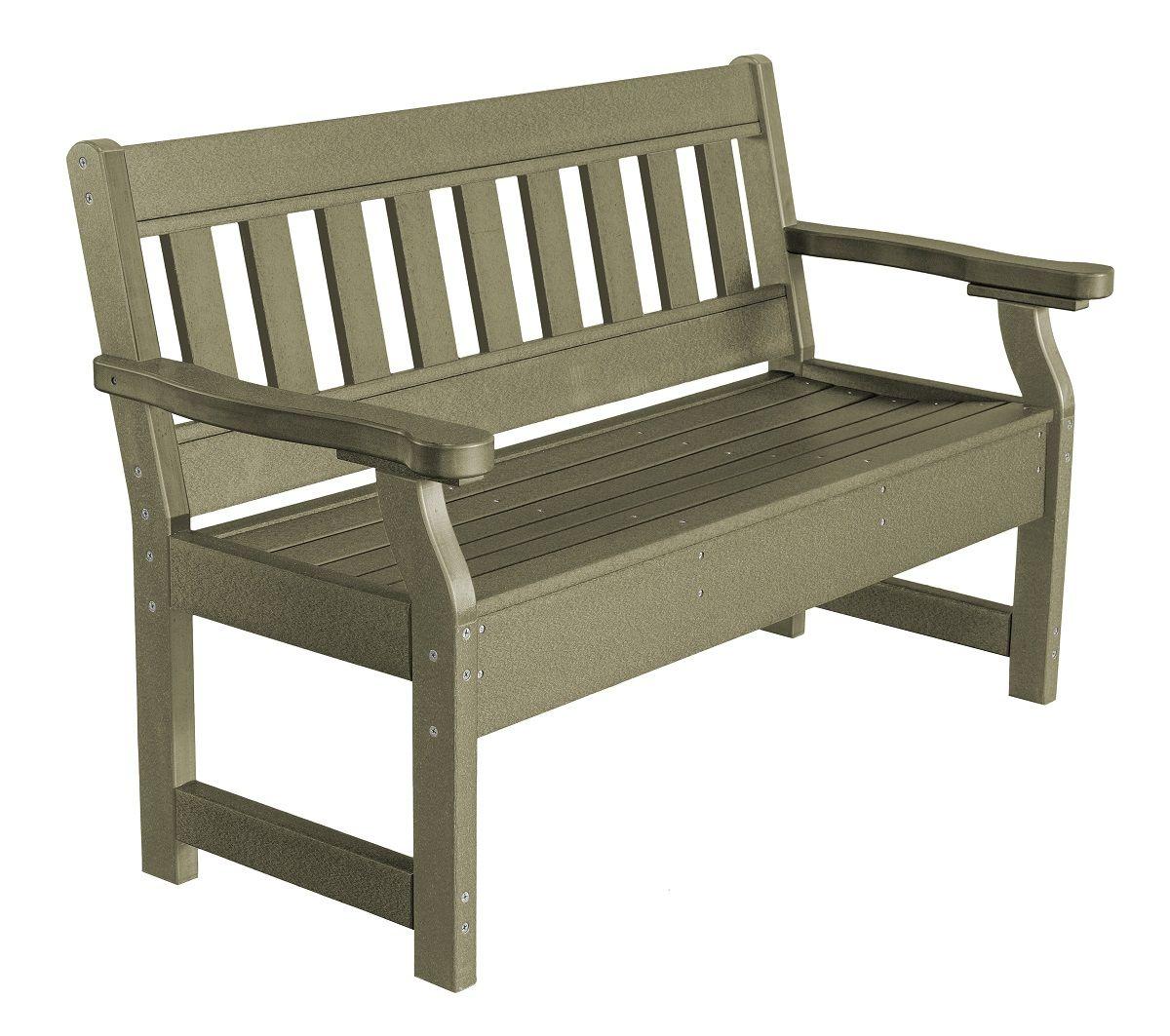 Olive Aden Garden Bench