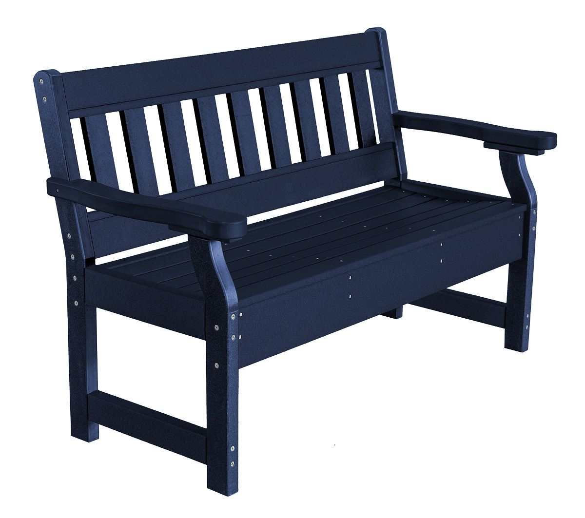 Patriot Blue Aden Garden Bench