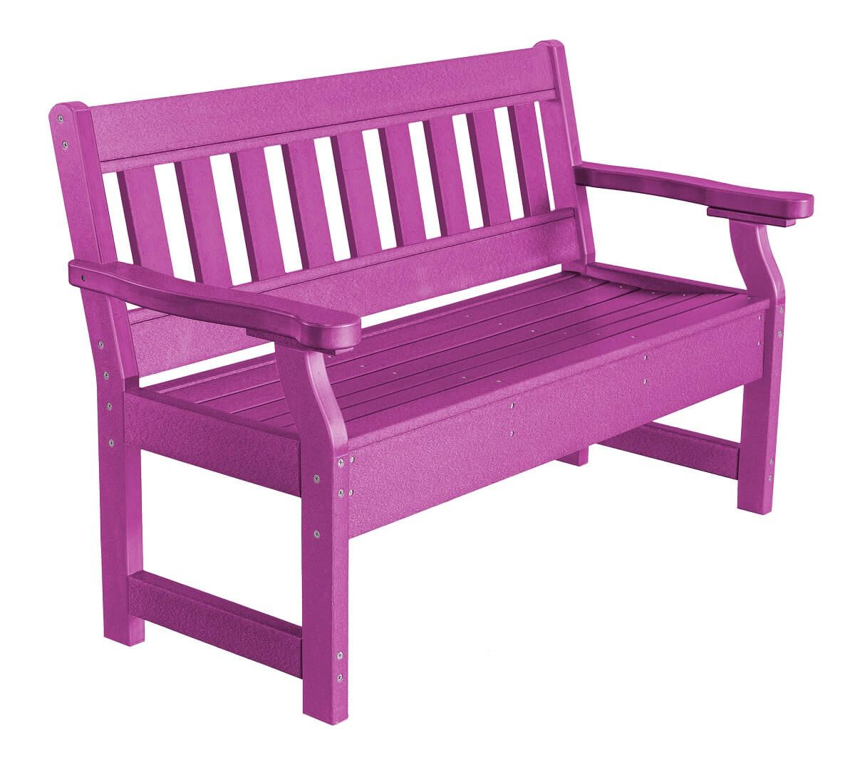 Purple Aden Garden Bench