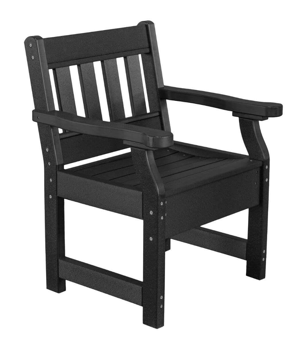 Black Aden Patio Chair