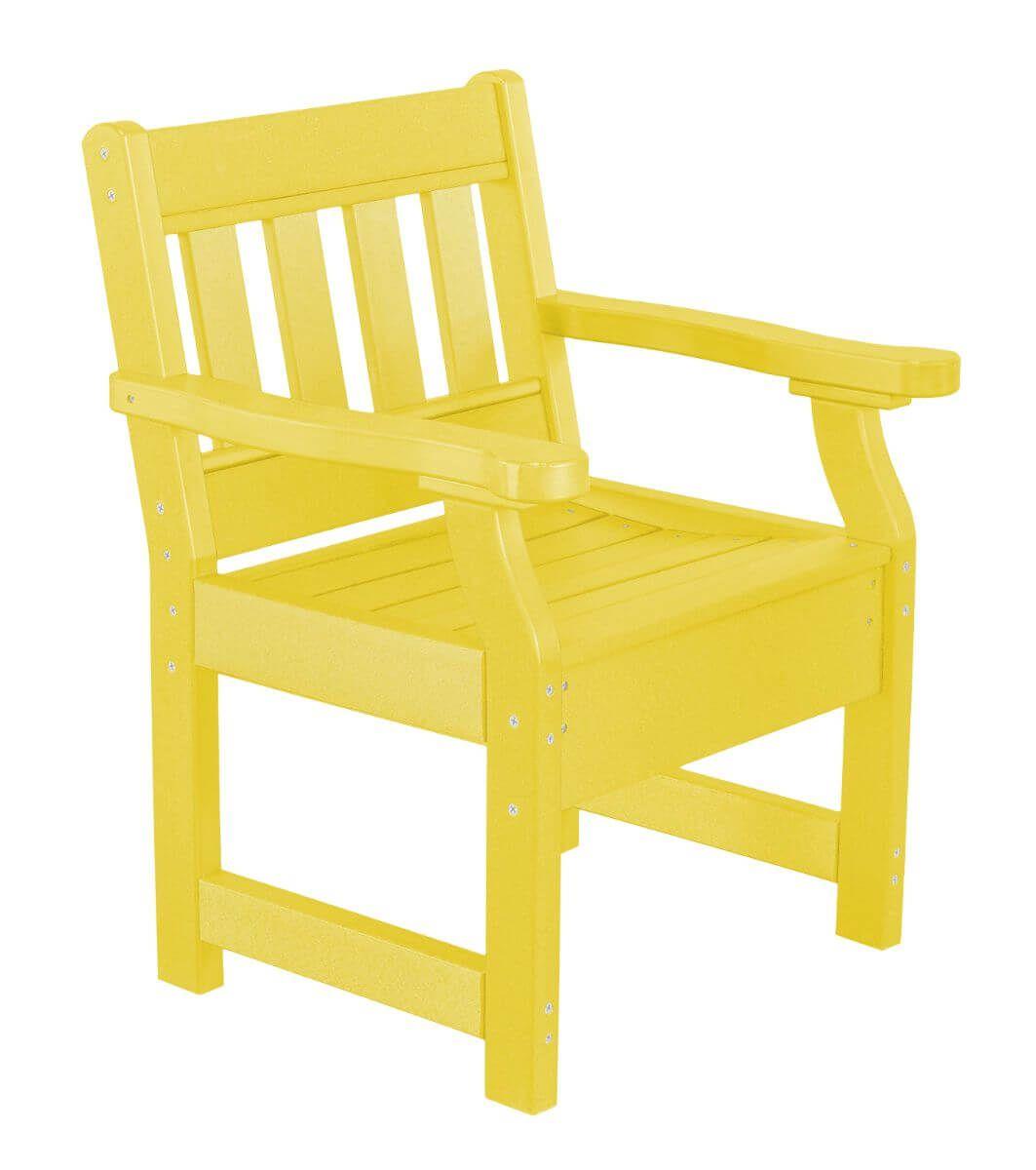 Lemon Yellow Aden Patio Chair
