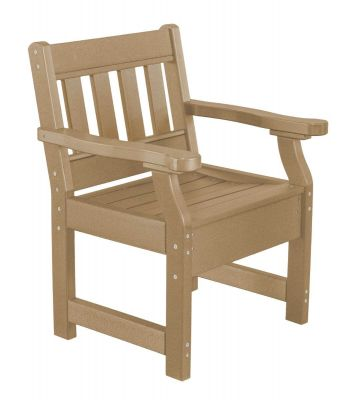 Weathered Wood Aden Patio Chair
