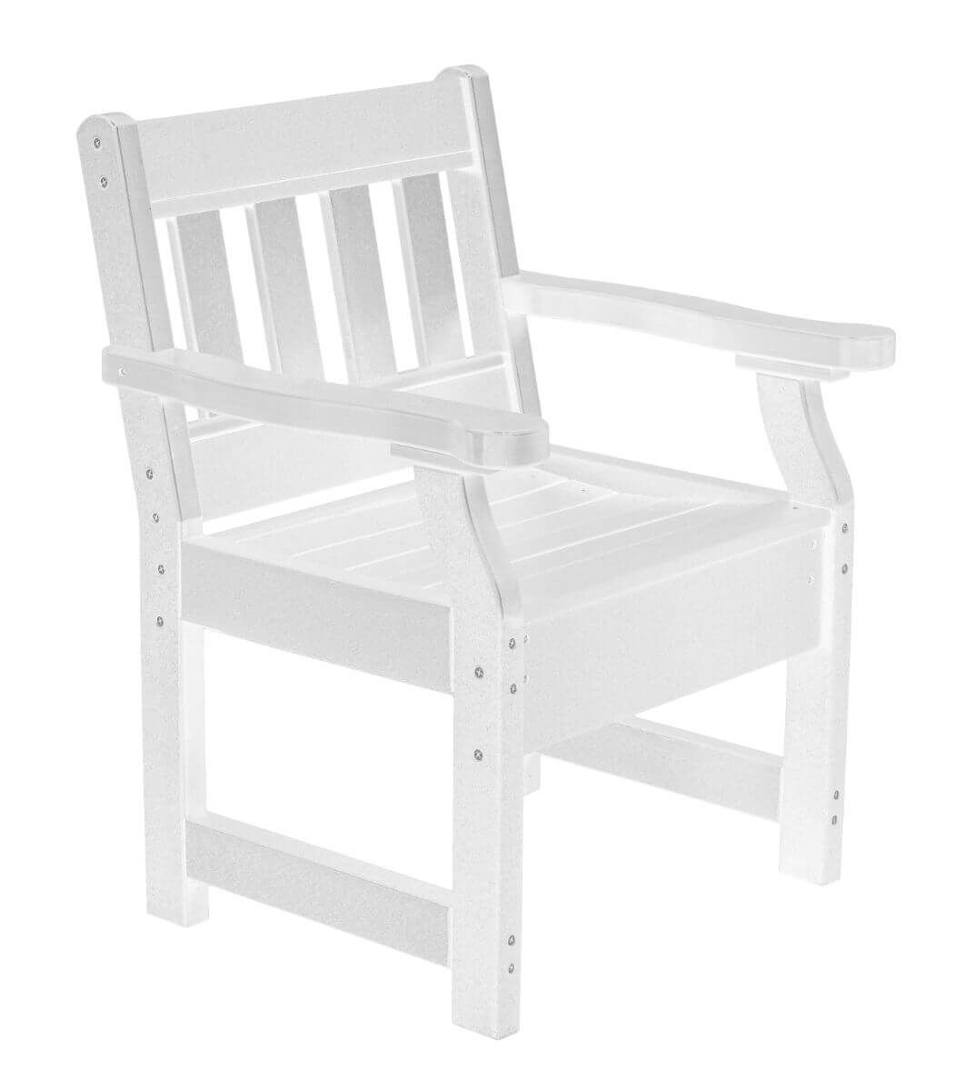White Aden Patio Chair