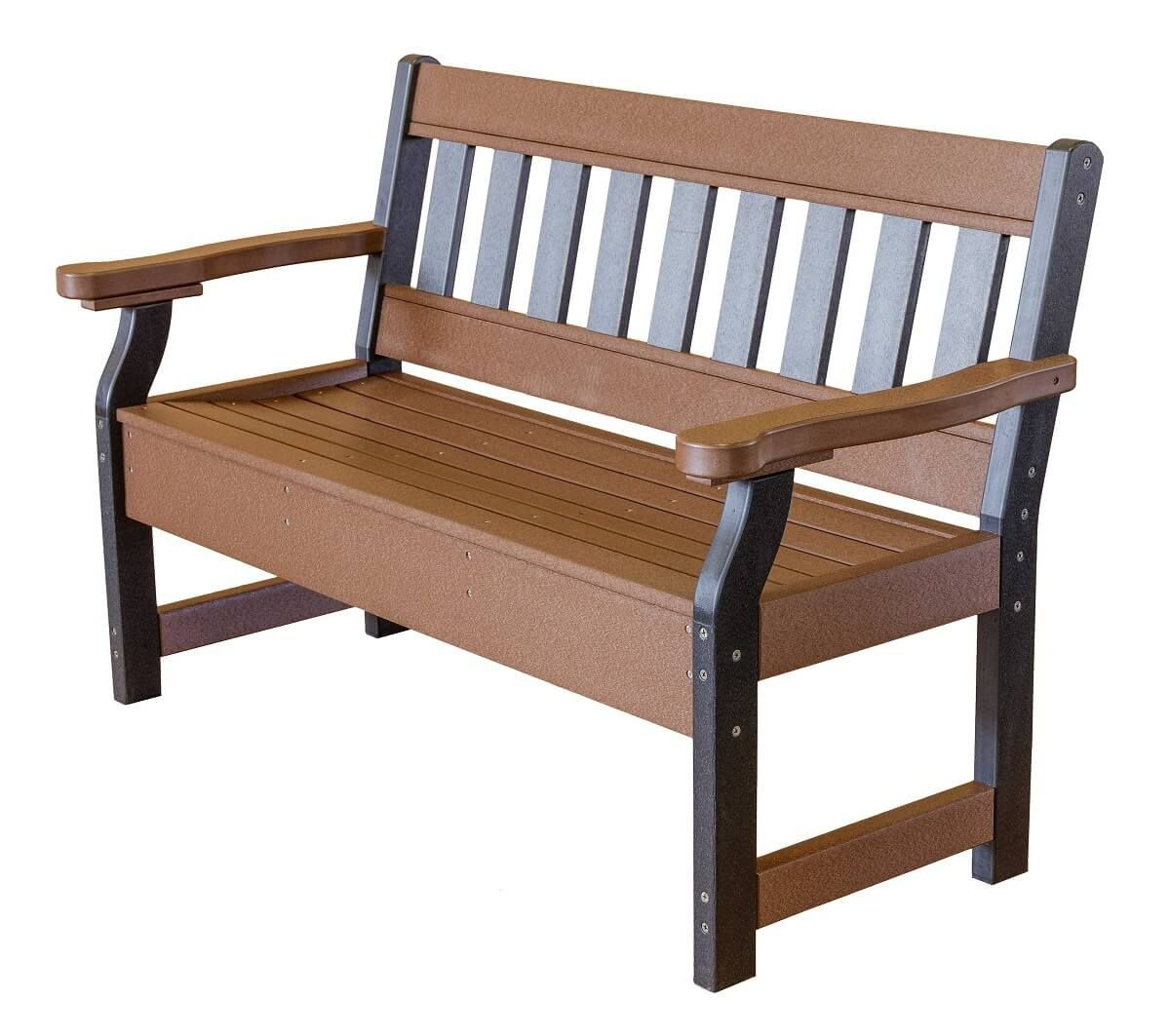 Two Tone Aden Garden Bench