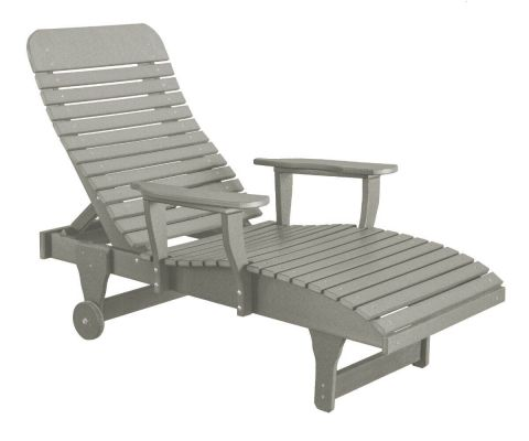 Light Gray Andaman Outdoor Chaise Lounge