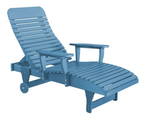 Powder Blue Andaman Outdoor Chaise Lounge