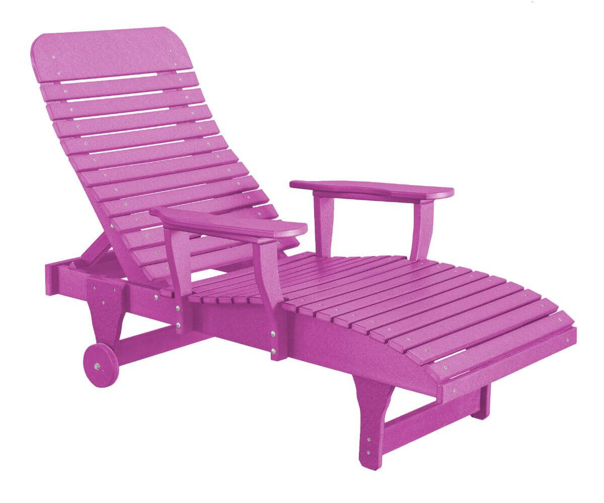Purple Andaman Outdoor Chaise Lounge