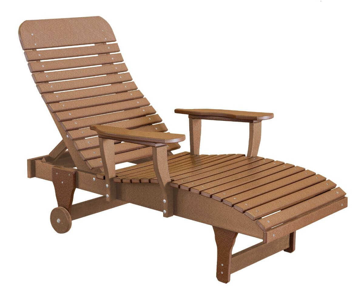 Tudor Brown Andaman Outdoor Chaise Lounge