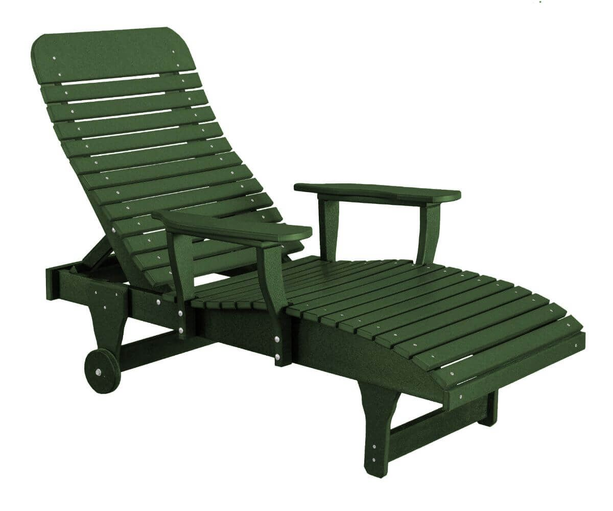 Turf Green Andaman Outdoor Chaise Lounge