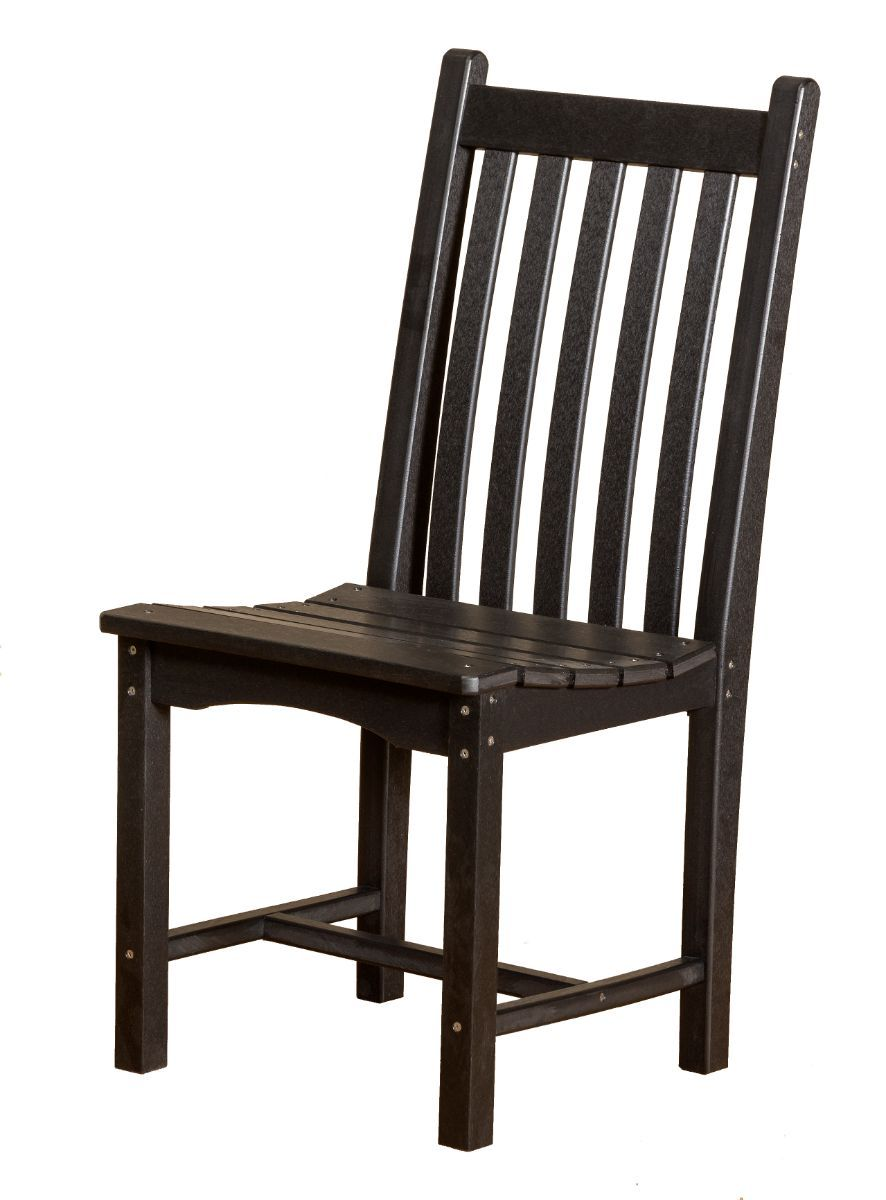 Black Aniva Outdoor Dining Side Chair