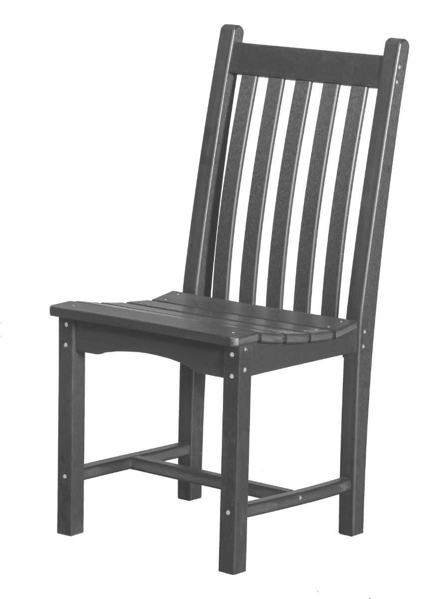 Dark Gray Side Chair