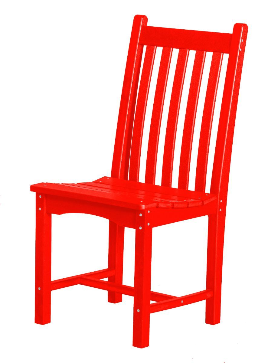 Bright Red Side Chair