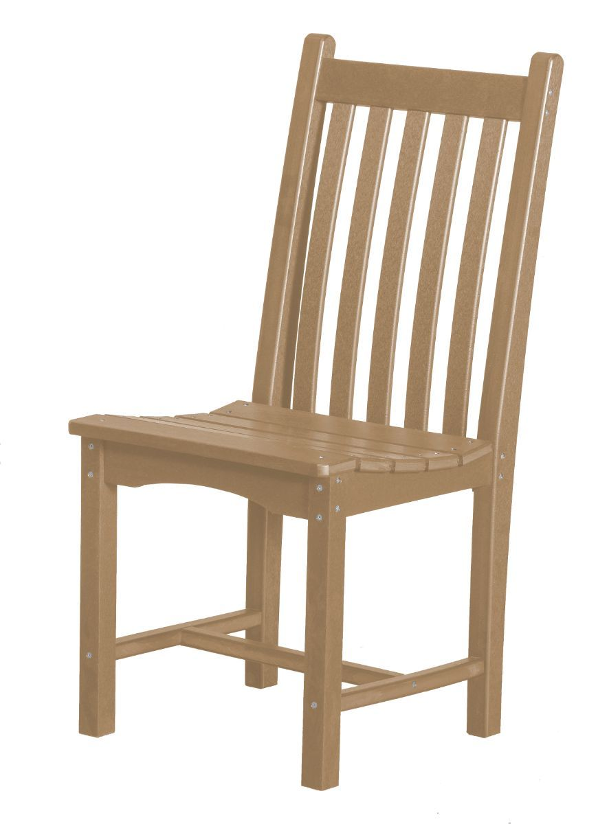 Weathered Wood Side Chair