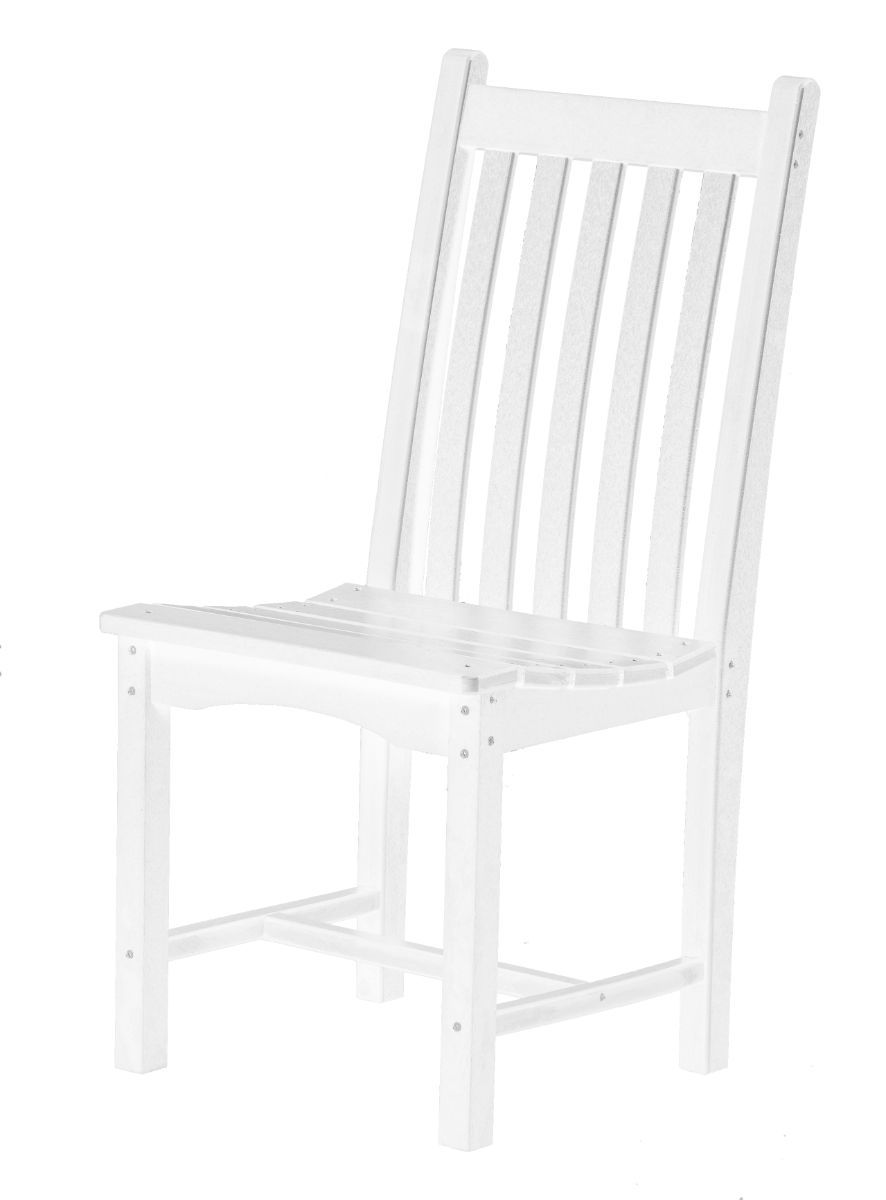 White Aniva Outdoor Dining Chair
