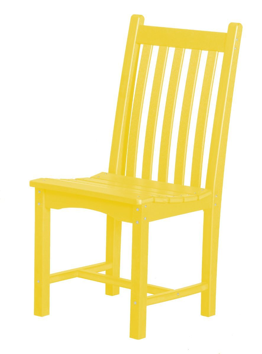 Lemon Yellow Side Chair