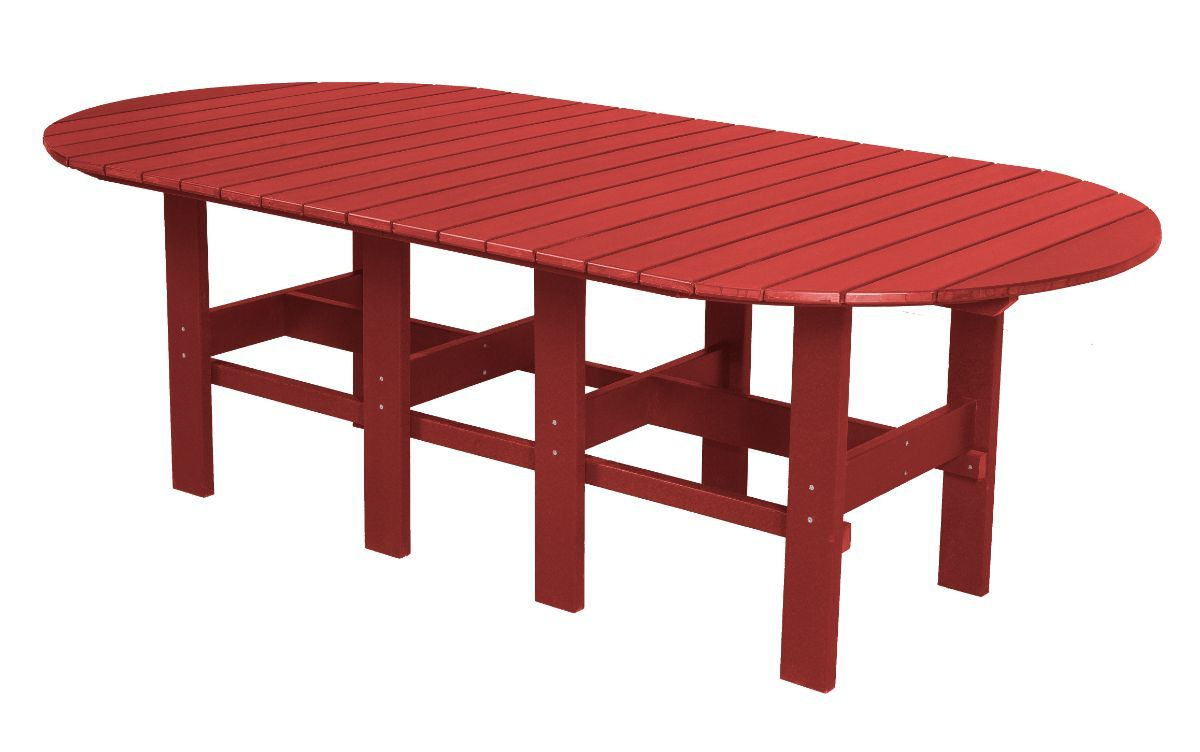 Cardinal Red Aniva Outdoor Dining Table