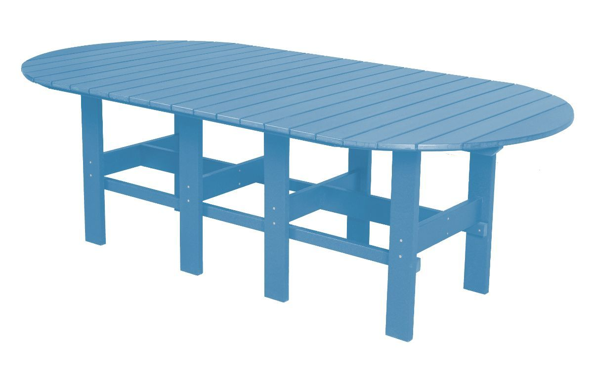 Powder Blue Aniva Outdoor Dining Table
