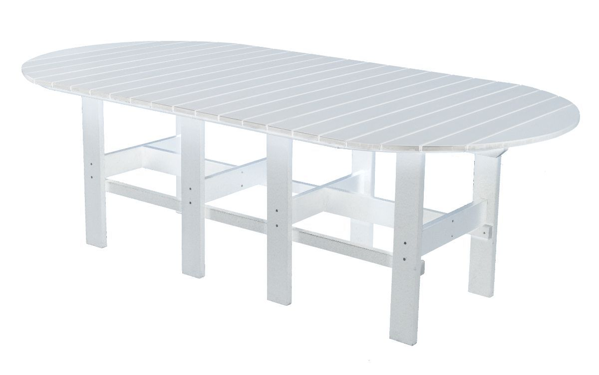 White Aniva Outdoor Dining Table
