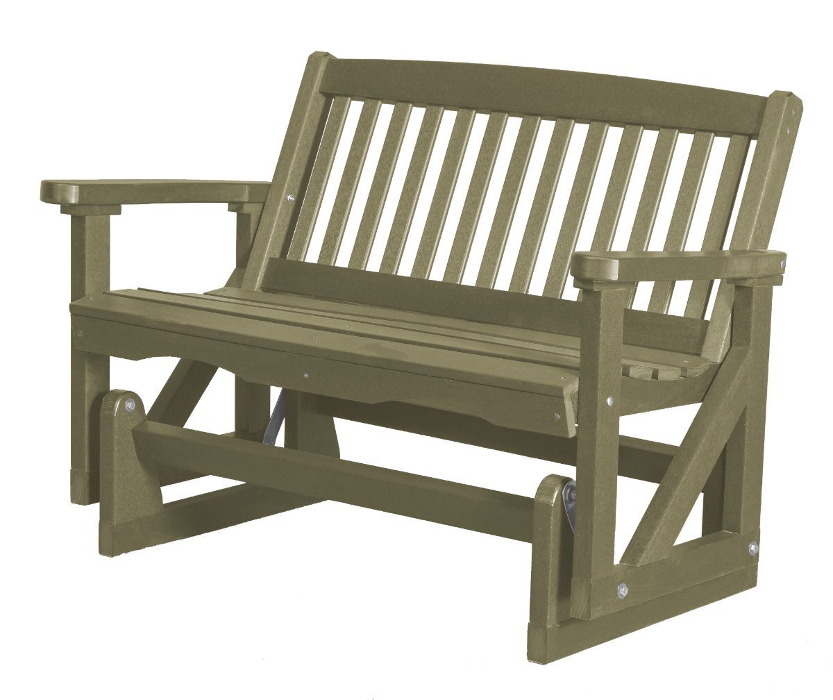 Olive Aniva Outdoor Double Glider