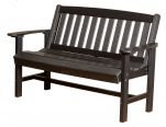 Black Aniva Patio Bench