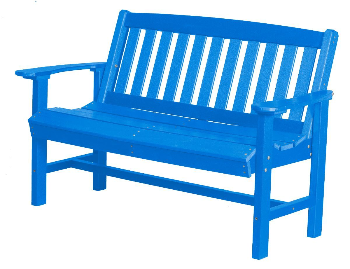 Blue Aniva Patio Bench