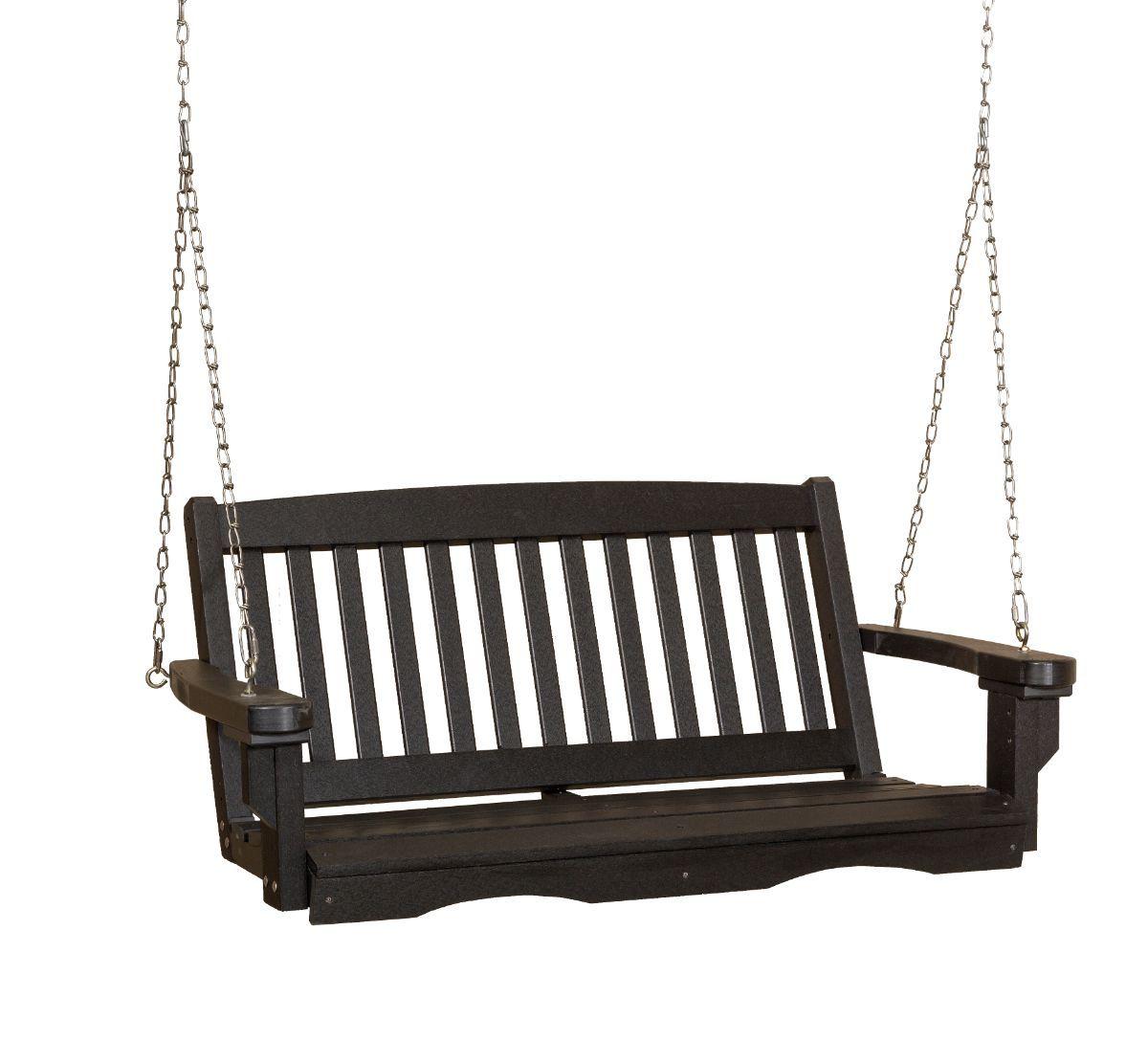 Black Aniva Porch Swing