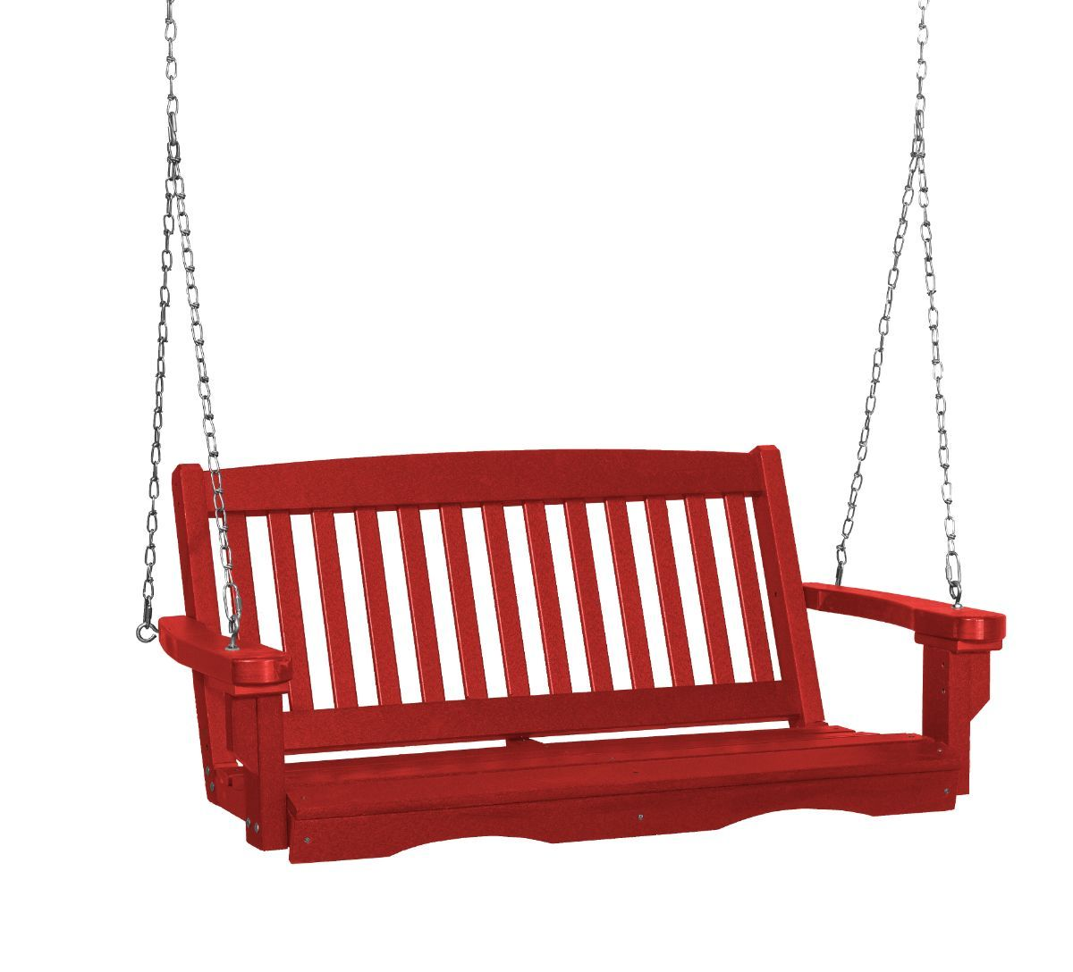 Cardinal Red Aniva Porch Swing