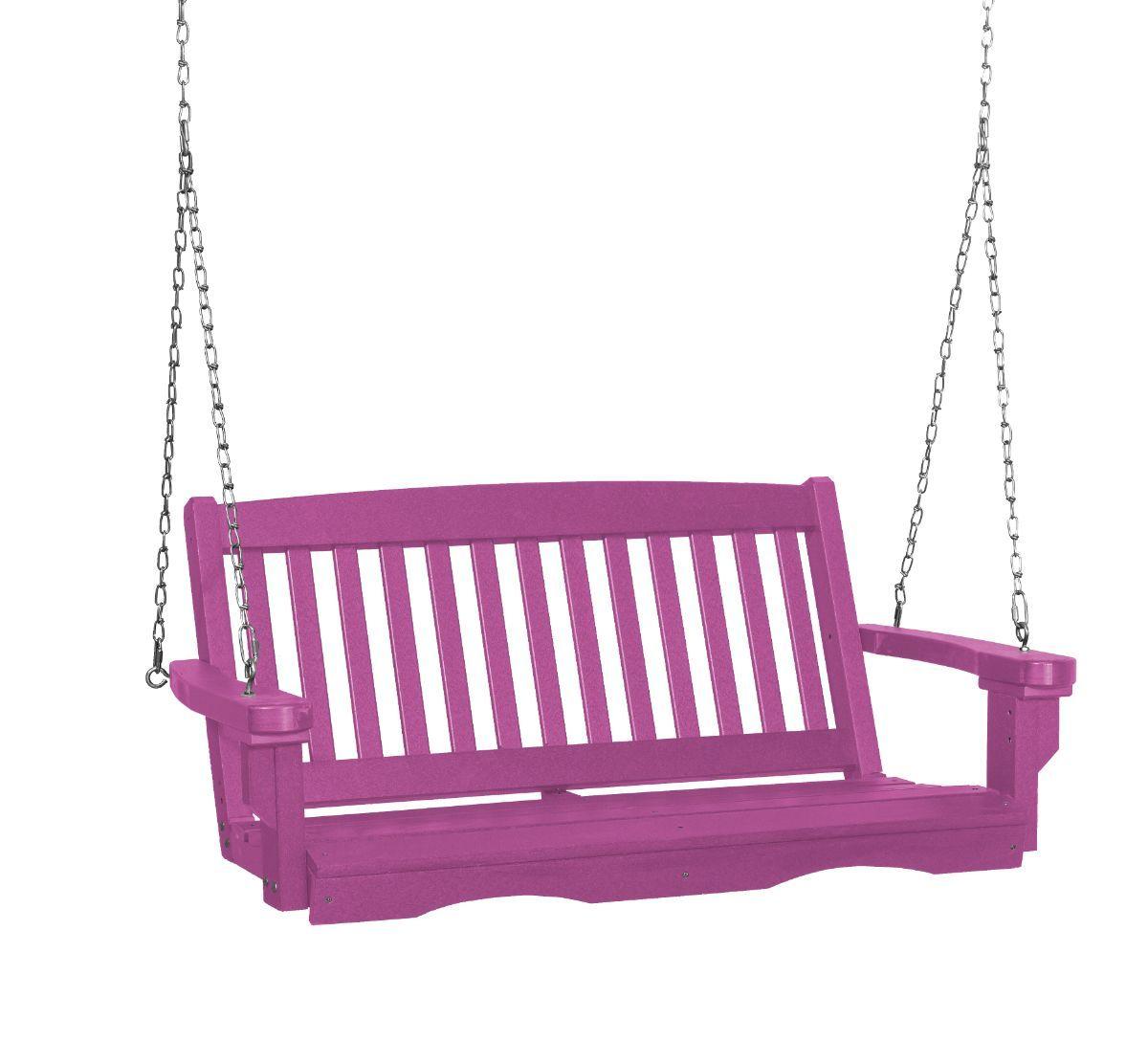 Purple Aniva Porch Swing