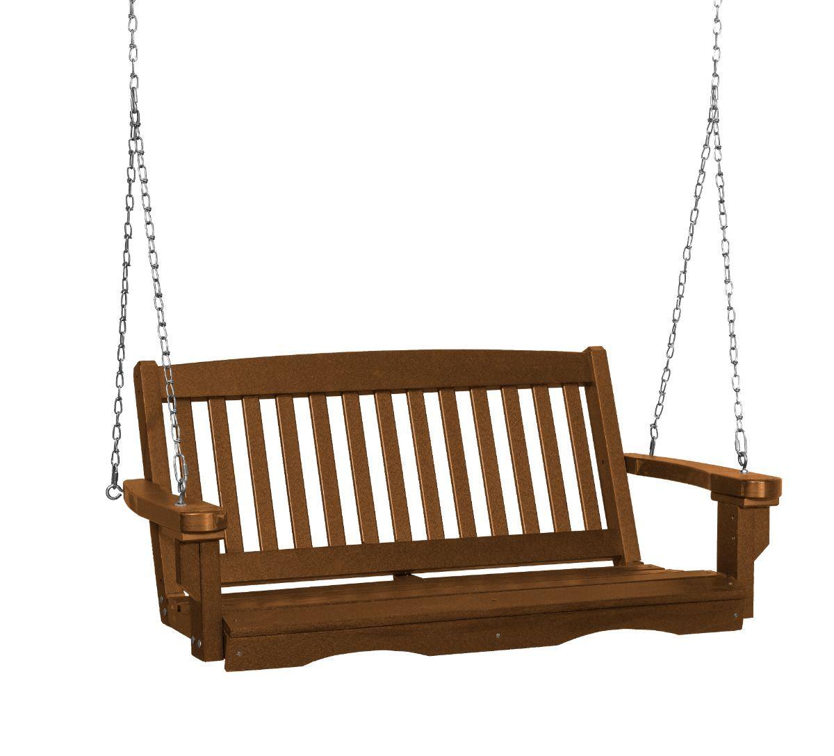 Tudor Brown Aniva Porch Swing