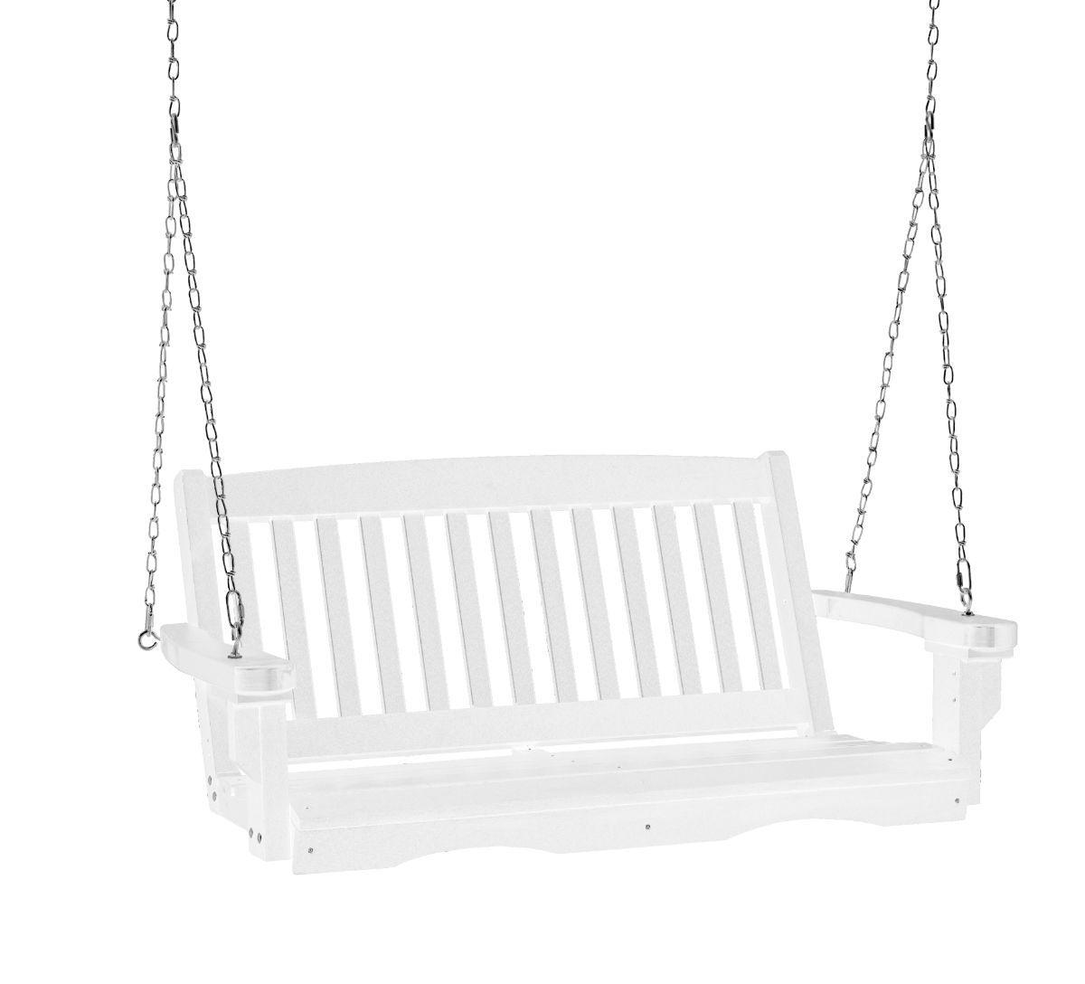 White Aniva Porch Swing