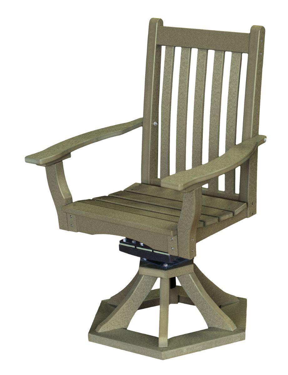 Olive Aniva Swivel Rocker Chair