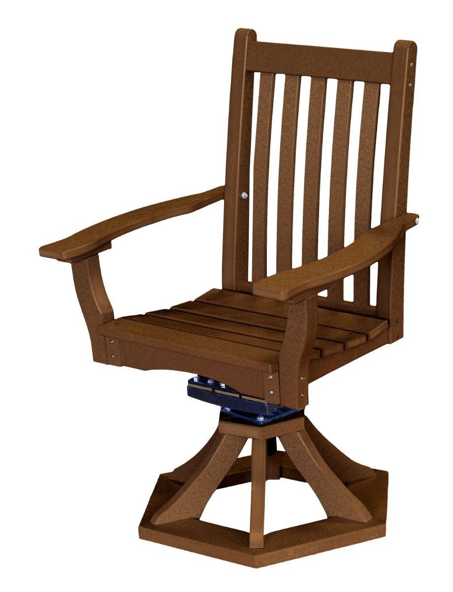 Tudor Brown Aniva Swivel Rocker Chair