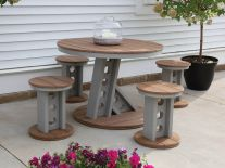 Ash Outdoor Dining Set