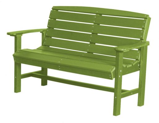 Lime Green Green Bay Outdoor Bench
