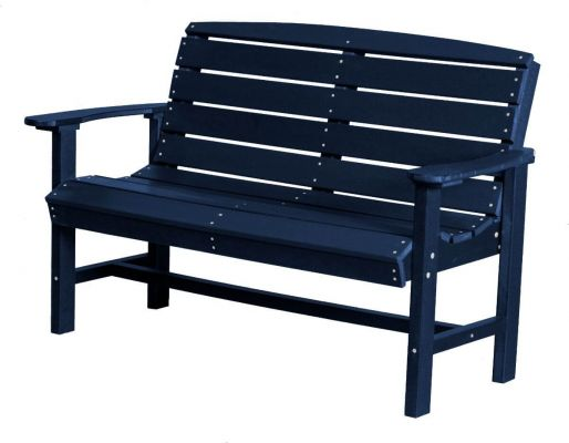 Patriot Blue Green Bay Outdoor Bench