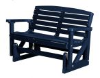 Patriot Blue Green Bay Outdoor Double Glider
